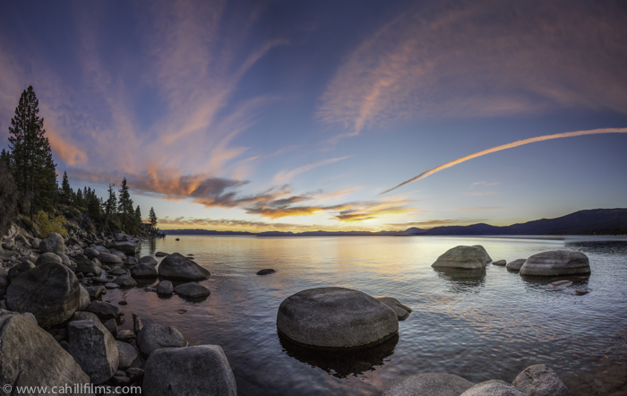 East Shore Sunset Pano_