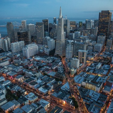 San Francisco, aerial photography
