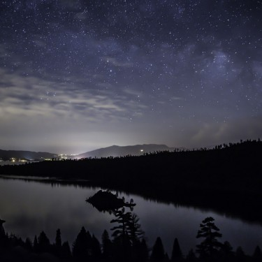 Emerald Bay - Night sky