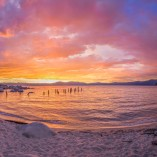 Best Lake Tahoe Sunset Ever