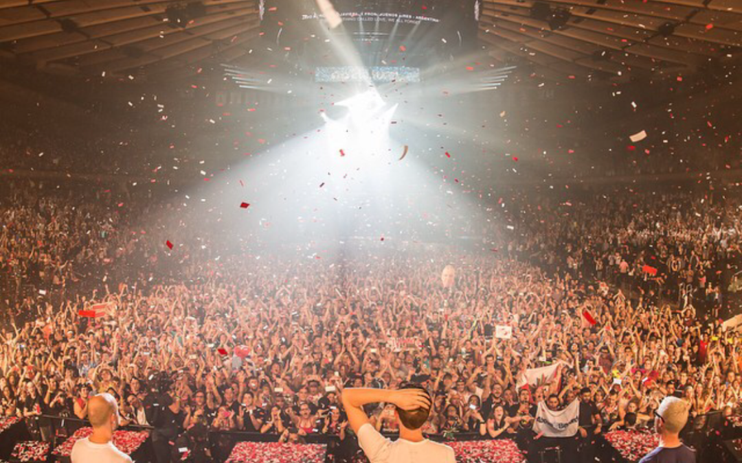 ABGT100 At Madison Sq Garden, New York.