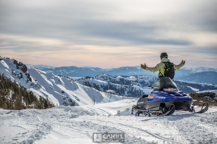 Tahoe Backcountry, Snowmobiling