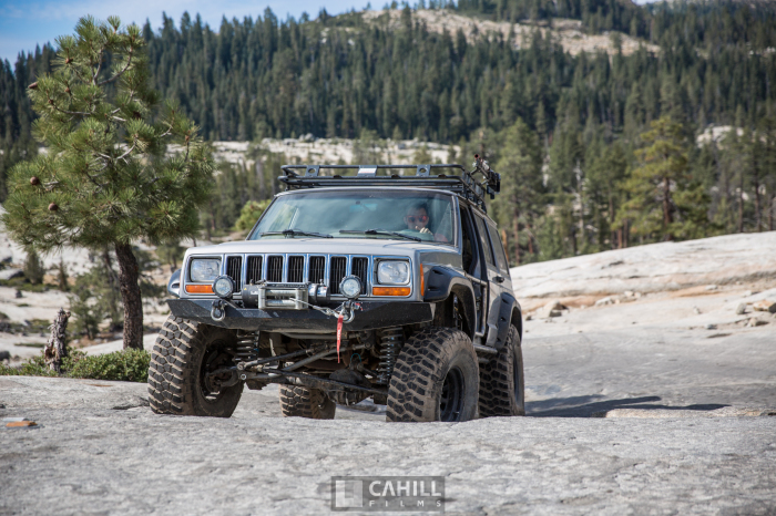 Rubicon Trail - Jeep XJ