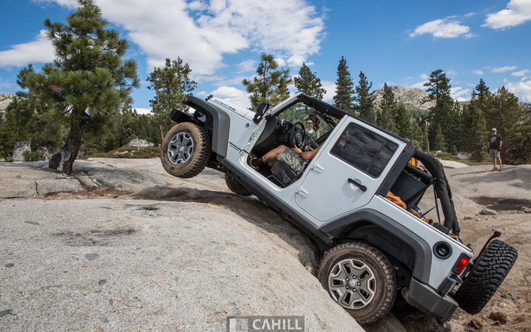 We took a stock Rubicon through the Rubicon…