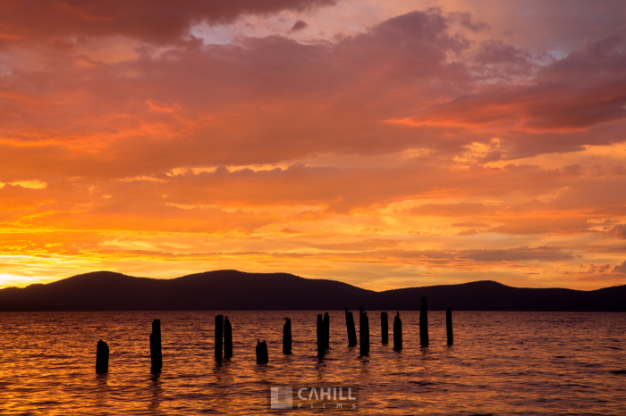 Colorful Tahoe Sunset