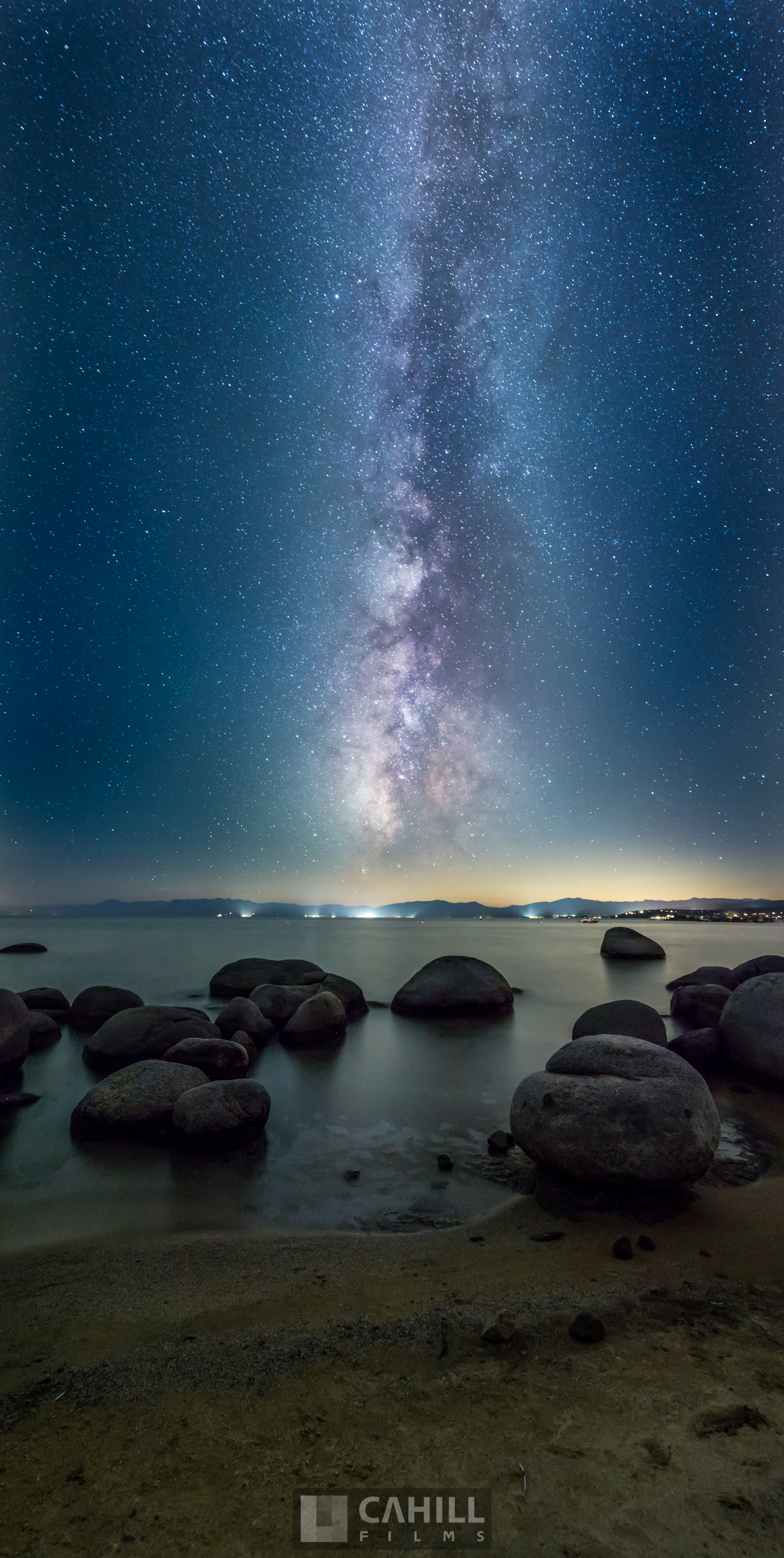 Milky Way, Lake Tahoe