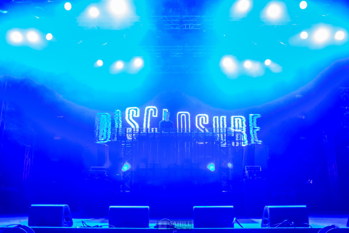 Disclousure at snowglobe music festival 2014