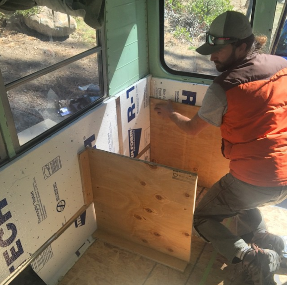 Building tinyhome beds